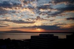Midnight sun in Anchorage